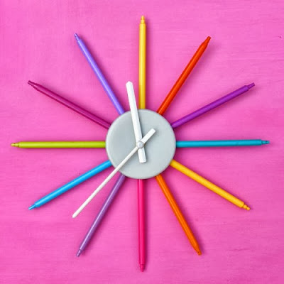Colourful  DIY Clock for Kids
