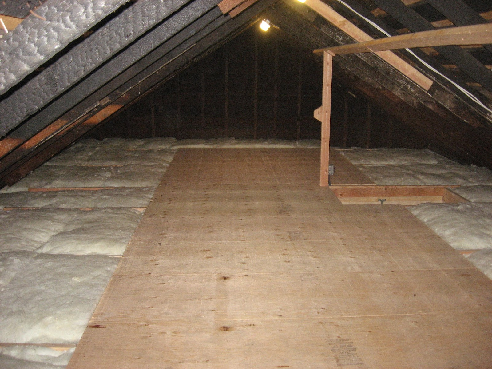 How to reinforce 2x4 attic floor joists fine homebuilding Floor joist trusses