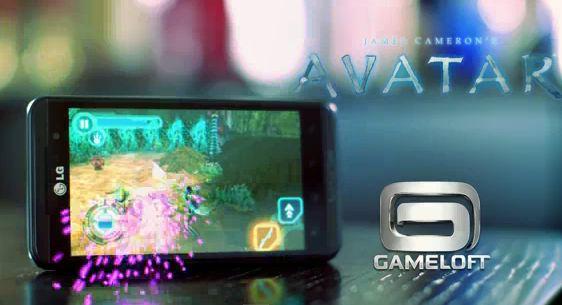 LG Optimus 3D-New 3D Games