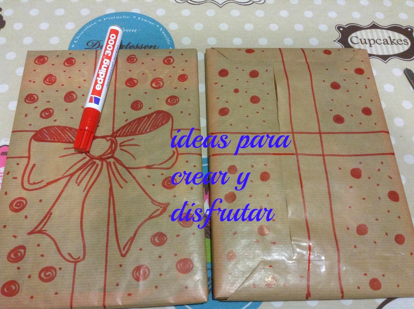 Ideas para crear y disfrutar original papel de regalo - Papel de regalo original ...