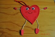 Y, dentro del Intercambio de los Corazones, le envié este corazón a Bruji y . inter corazones yo mariam