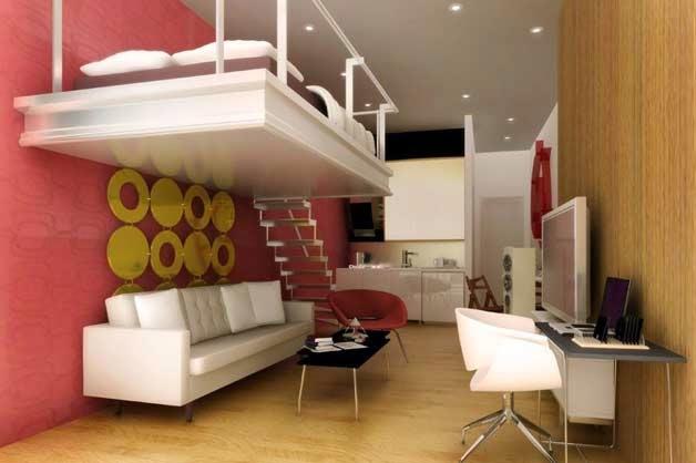 Cómo aprovechar los espacios en apartamentos