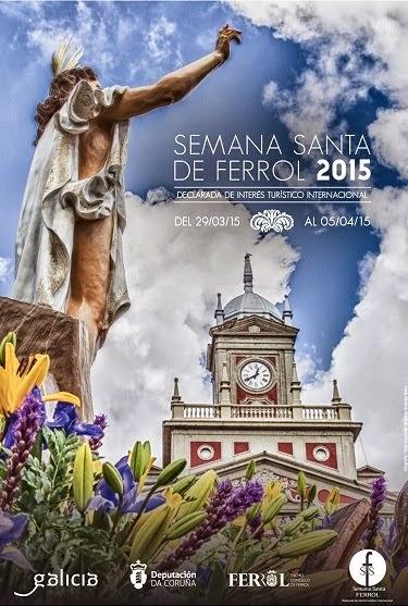 Cartel S. Santa Ferrol 2015