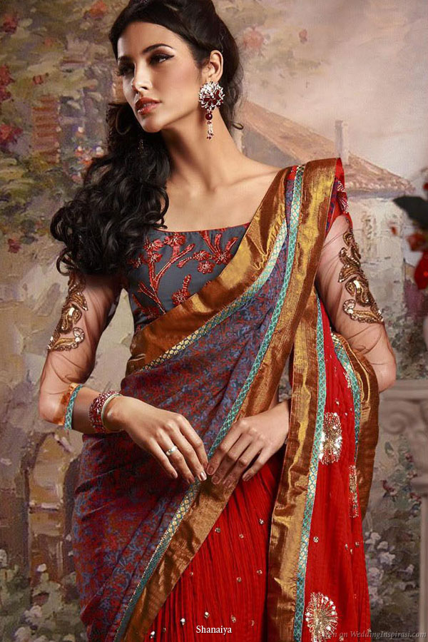 Different Types of Saree Draping Styles