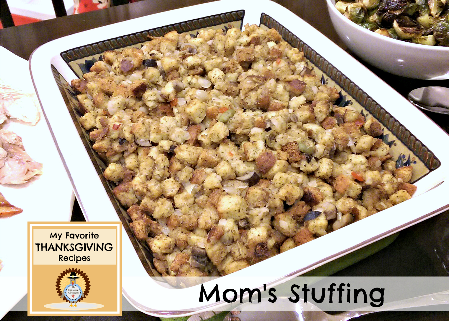 My Epicurean Adventures: Mom's Thanksgiving Stuffing
