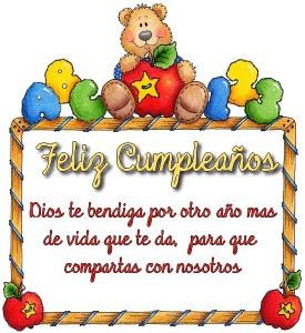 Cumpleaños ositos
