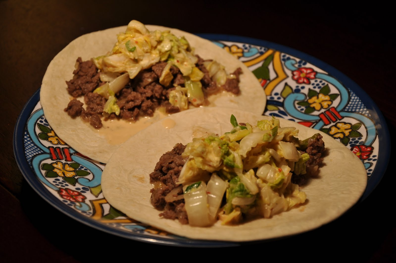 Kogi-Inspired Bulgogi Tacos With Spicy Slaw Recipe — Dishmaps