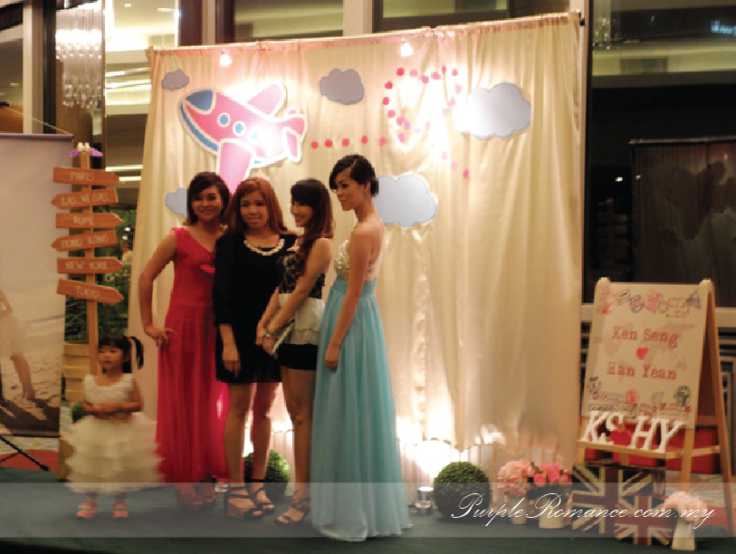 Photo Booth Backdrop Decoration, Wedding, Travel Around The World Theme, Welcome Board, Garden, Wooden Signage, poster, Mandarin Oriental, Grand Ballroom, Kuala Lumpur, Selangor