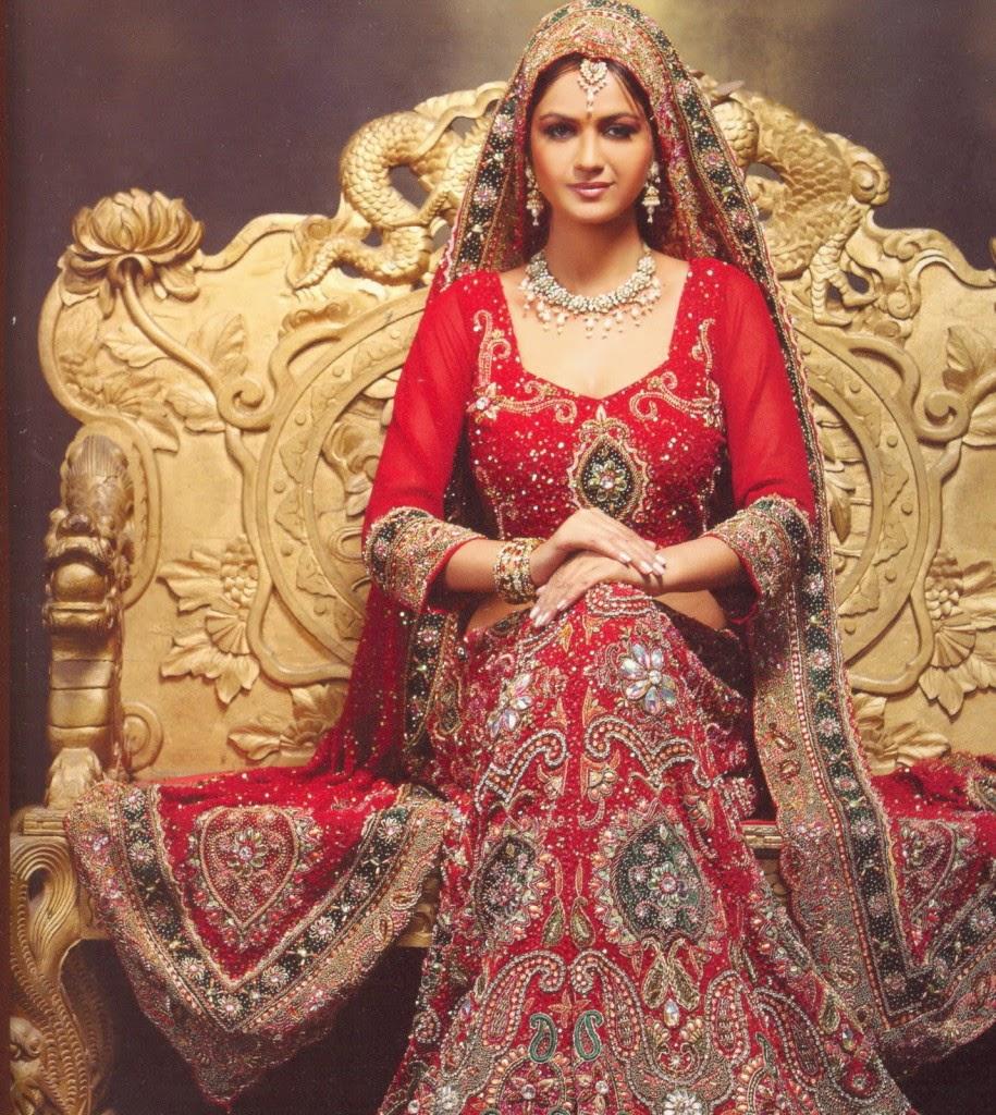 Indian and Pakistani Wedding Dresses
