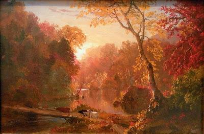 Frederic Edwin Church  - autumn in North America, 1856