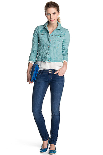 You me the sea allrounder jeansjacke jeanshemd for Jeansjacke kombinieren