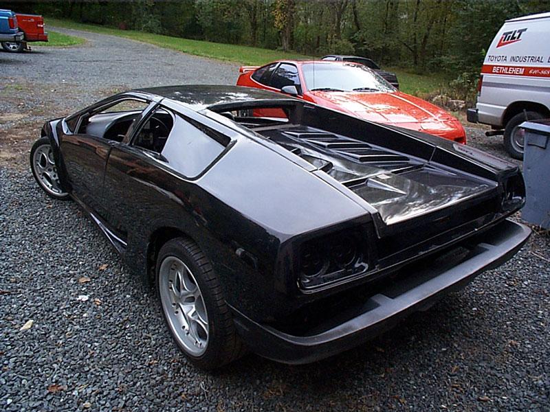 Bmw I8 Concept Fiero Based Lamborghini Diablo Replica