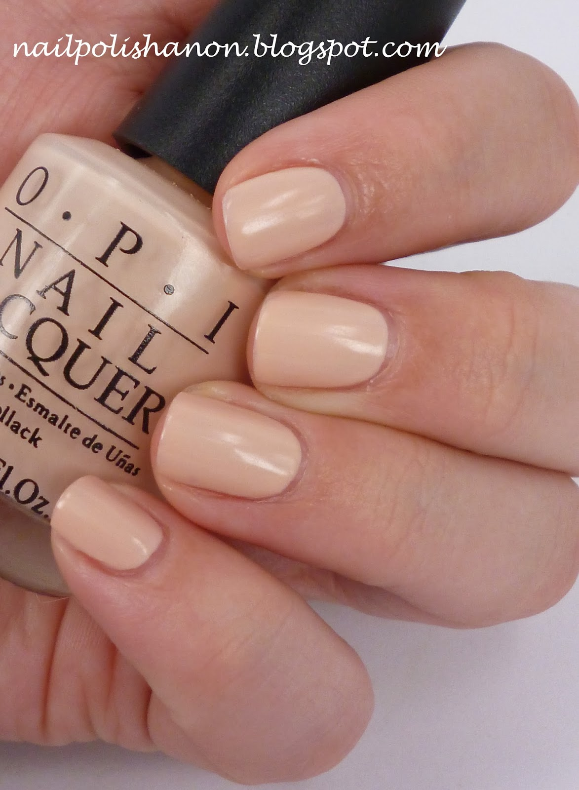 Nail Polish Anon My OPI Delicates Let Them Eat Rice Cake Have A