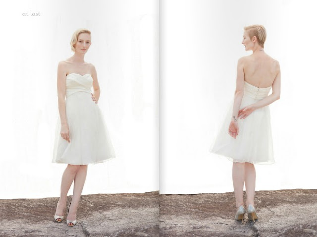 2013 Tulle short Wedding Dresses From Ivy And Aster