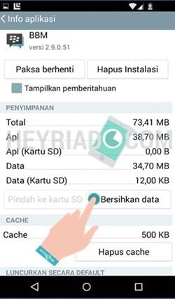 BBM Android Tidak Bisa Dibuka