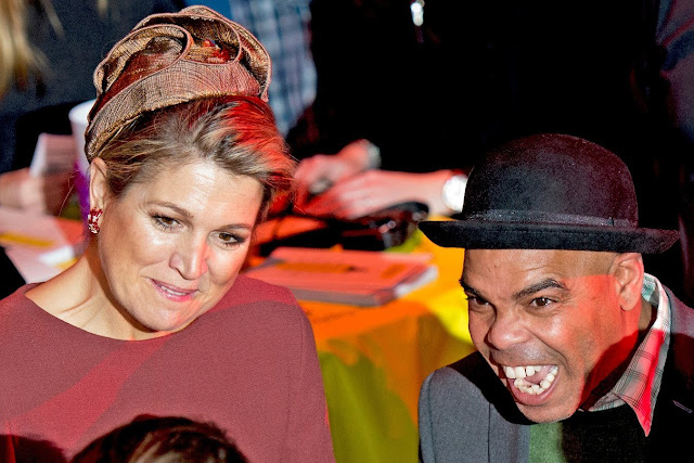 Queen Maxima of The Netherlands attends the opening Almere