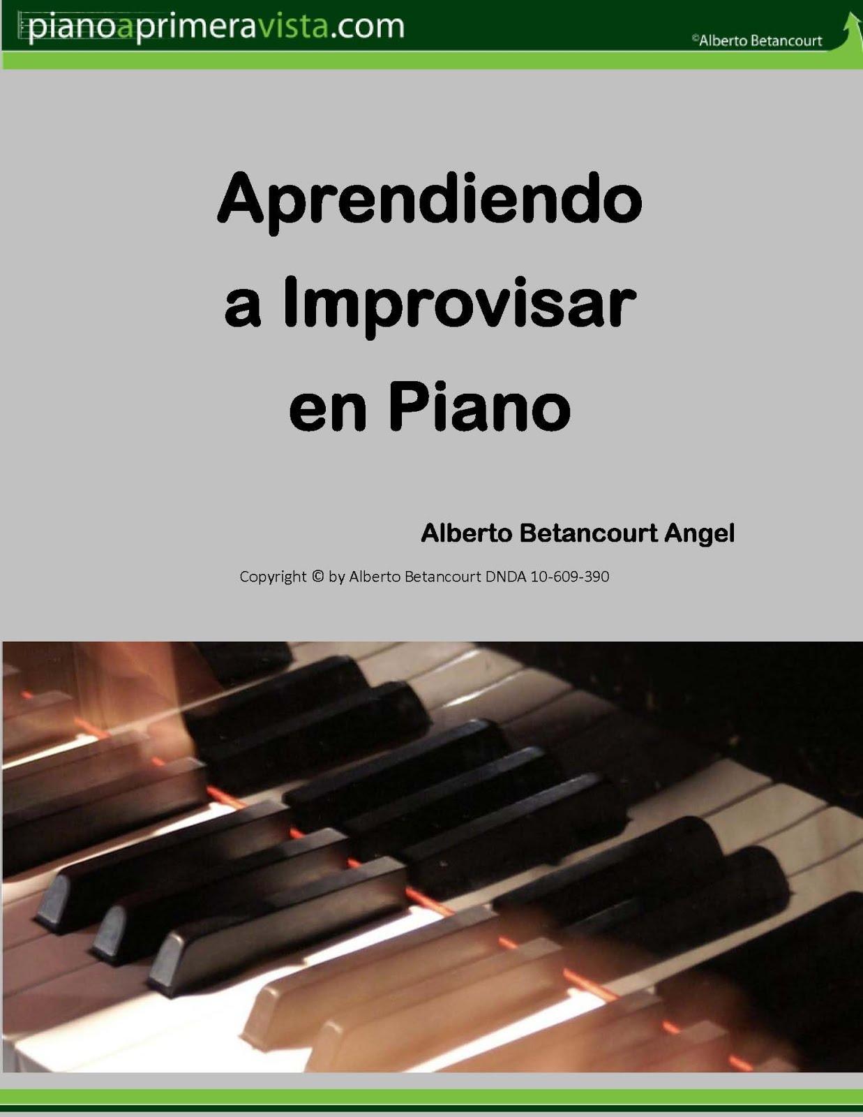 IMPROVISACIÓN EN PIANO