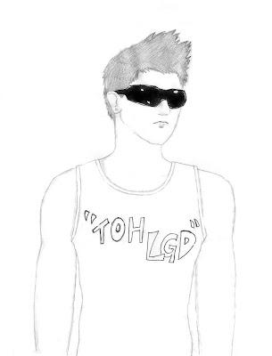 Garoto de óculos (desenho)