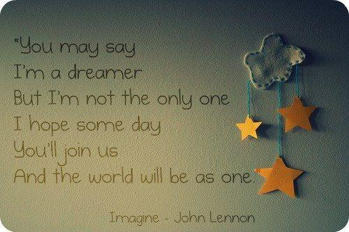 imagine lyrics john lennon