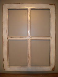 vintage window frame...SOLD