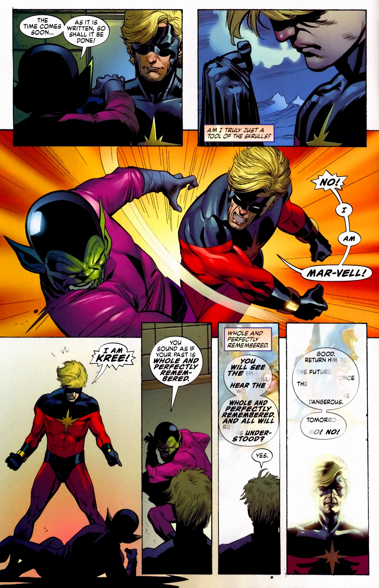 Read online Secret Invasion: The Infiltration comic -  Issue #5 - 8