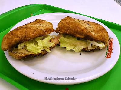 Mixirica Alimentação Equilibrada: Sanduíche