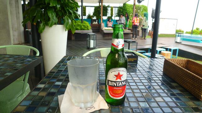 La birra Bintang bien fresca