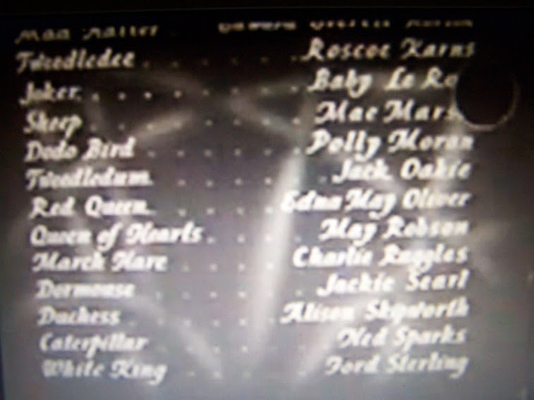 Alice In Wonderland 1933 Cast Credits #2