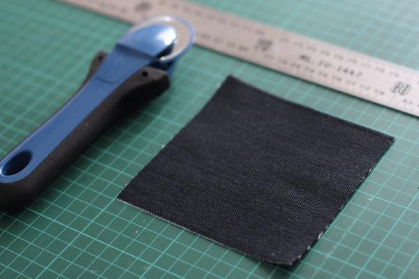 Ro Guaraz· posavasos quilting · 05 · cortar cuadrados