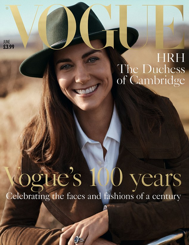 Ms. Middleton Goes Outdoorsy Vogue---My Kinda Healthy Girl Look