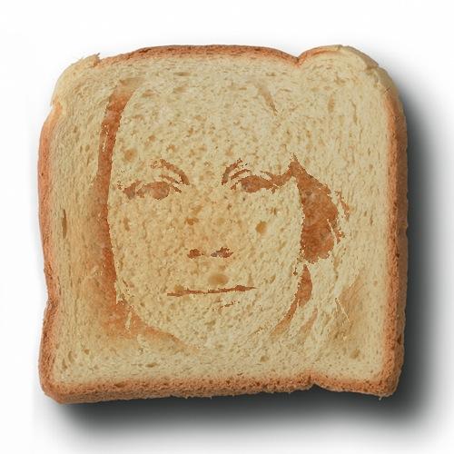 Novelty Girl: My Face On Toast