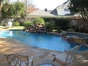 Backyard Pools and Seating