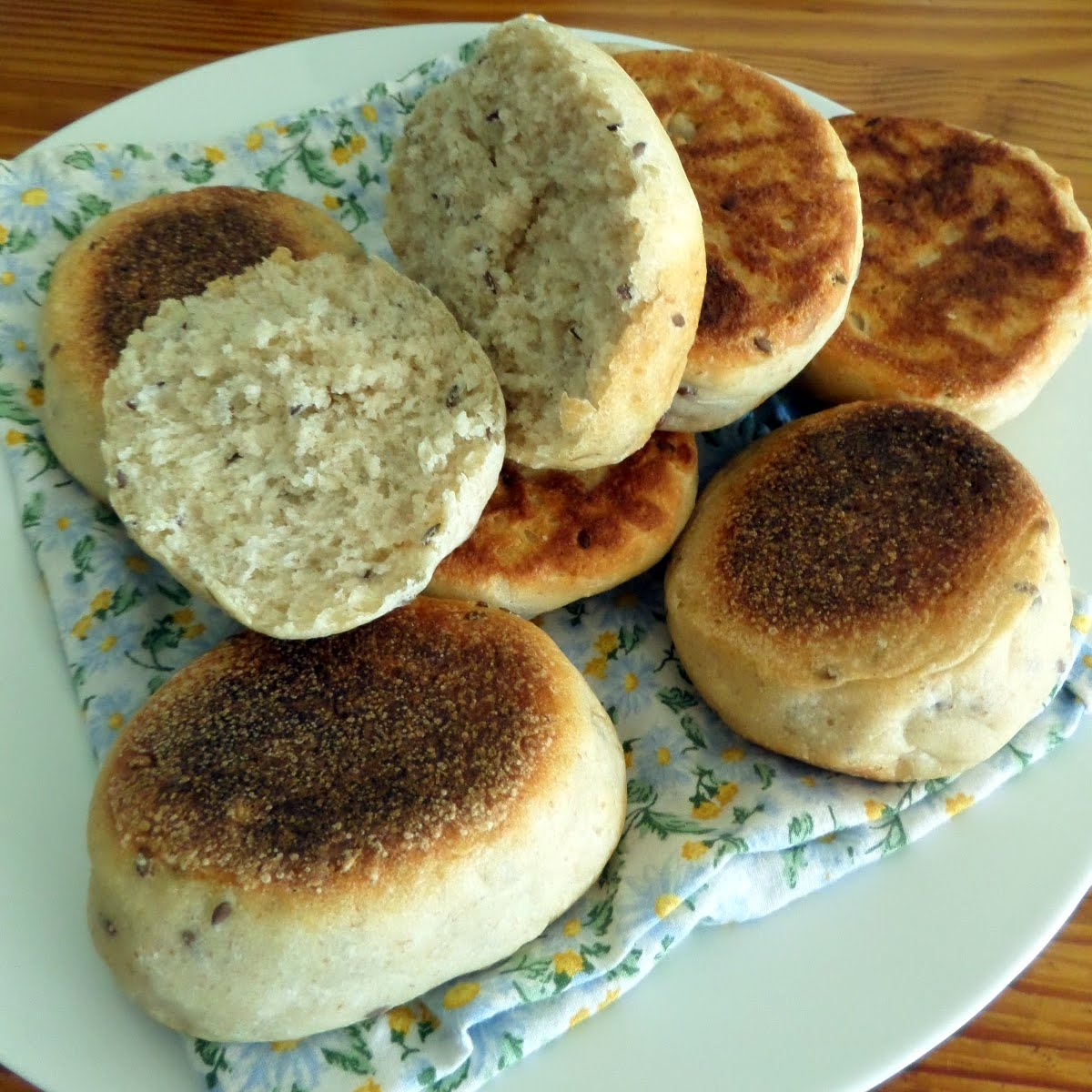 Multigrain English Muffins (Sourdough) | Joybee, What's for Dinner?