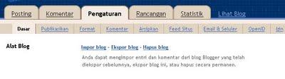 backup postingan blog