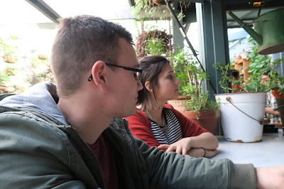 Caitie and Bryce at The Potting Shed