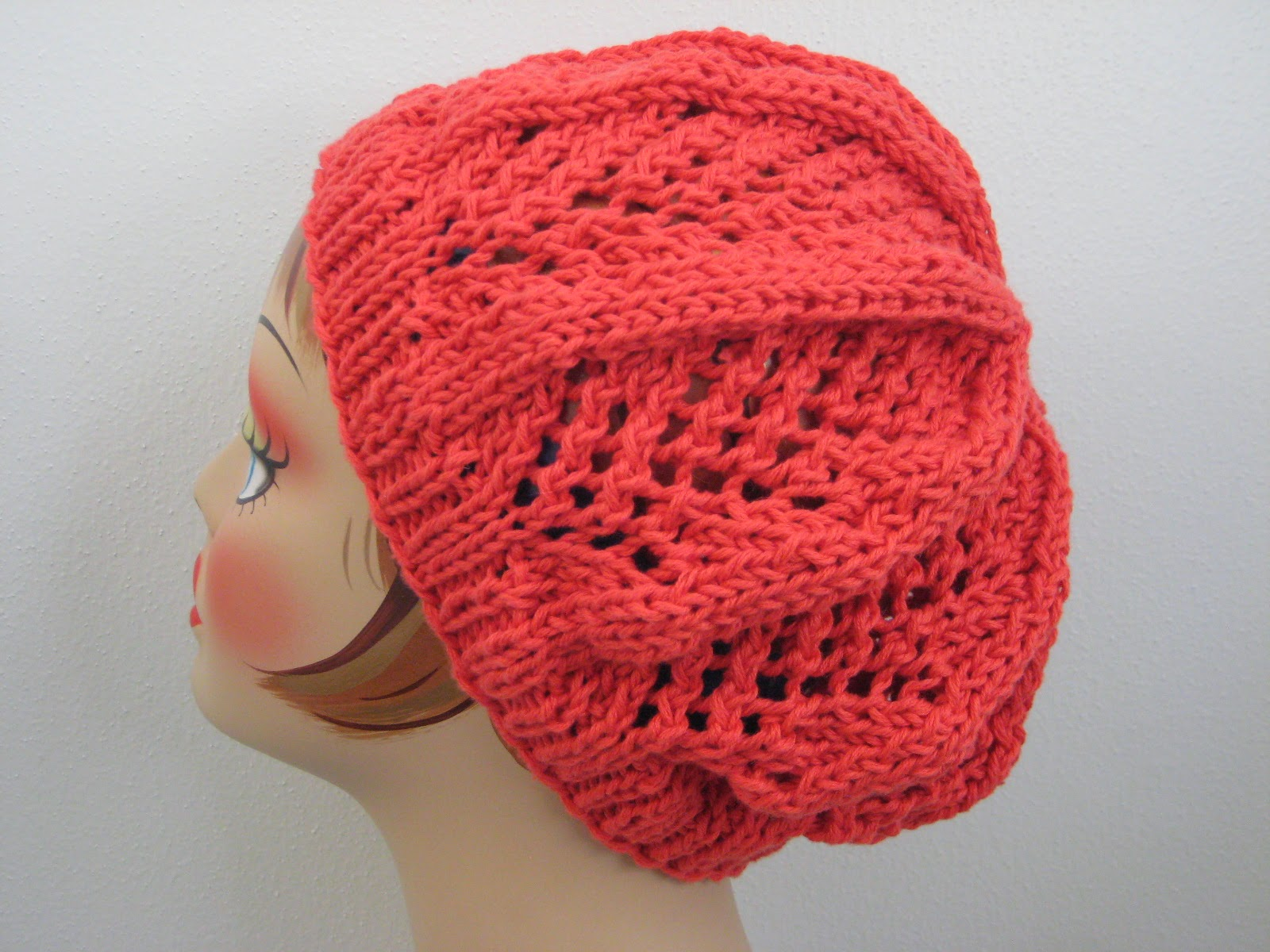 Knitting Stitches Sl1 : Balls to the Walls Knits: Fan Lace Hat