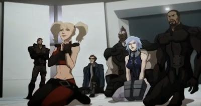 Batman animated Arkham movie Suicide Squad Harley Quinn