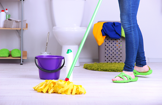 for Bathroom deep cleaning