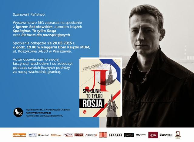Spokojnie. To tylko Rosja - Zaproszenie do Domu Książki MDM