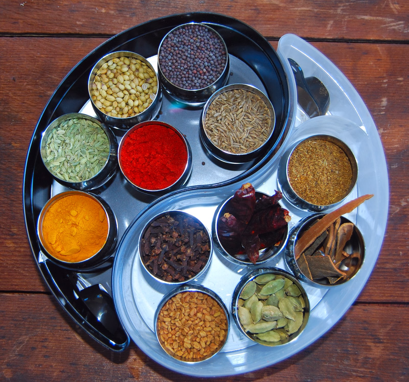 Homemade spice mixes holy cow vegan recipes for 4 spice indian cuisine