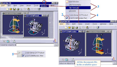 mechanical design program Dealing with several documents