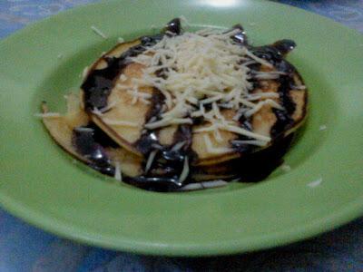 Resep Kue Pancake Coklat Keju