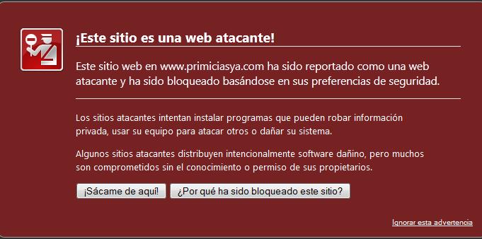La ventana indiscreta de julia hackearon el sitio de for Primicia ya espectaculos