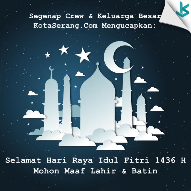 Gambar Vector - Gambar Ucapan Selamat Idul Fitri 1436H 2015