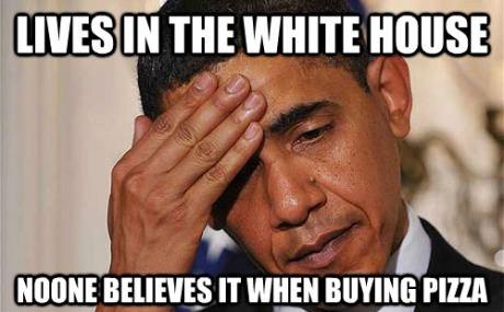 comic about Obama