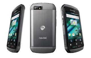 Motorola i940 Android smartphone in Brazil