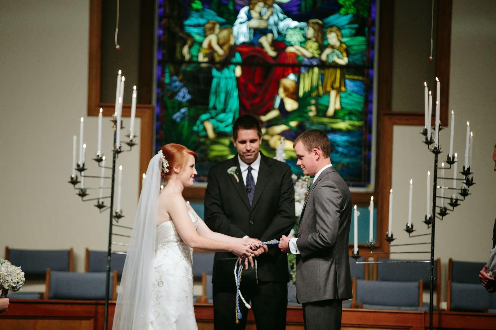 pinch of wedding diy cord of three strands god s knot