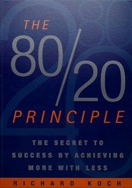 Entrepreneurial books to read in 2011 mr outsource blog for Koch 80 20 principle