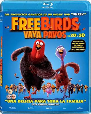 Free Birds 2013 Dual Audio BluRay 480p 300mb