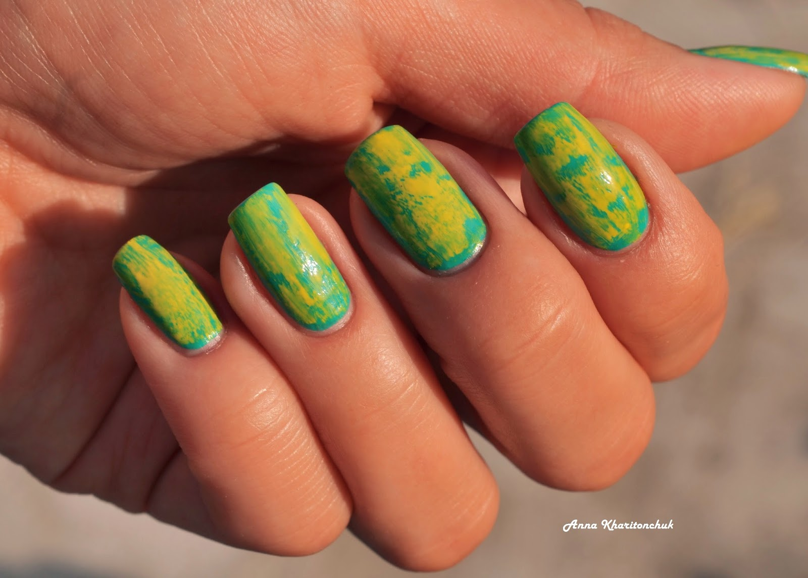 distressed nail
